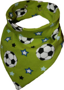 Tooth Football Green Waterproof Head Scarf