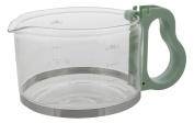 Codiac 340156 Replacement Jug for Philips HD 7444 Comfort + HD 7956 Glass Green