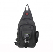 Sling Bag Chest Shoulder Backpack One Strap Daypack Crossbody Hiking Bags Bicycle Rucksack School Handbag Men Women