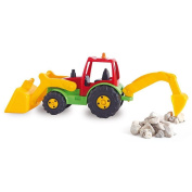 AVC AVC5252 40 x 15 x 19 cm Tractor with Excavator and Retro
