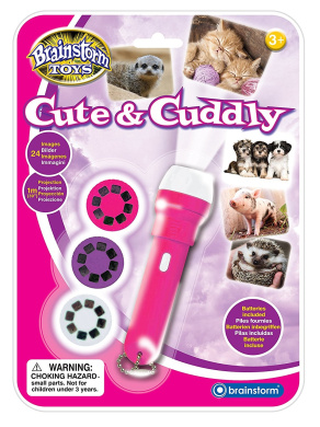 """Brainstorm Toys E2043 """"Cute and Cuddly"""" Torch and Projector"""