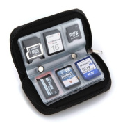 Lsv-8 22 slots Memory Card SD card Storage Carrying Pouch Holder Wallet Case Bag