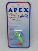 Apex trout lure, Chrome/green scale,1.0