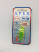 Apex trout lure, chartreuse 1.5