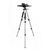 Yisale Video Projector Mount Stand, Adjustable Height, Swivel/Rotating Plate, Tripod Style