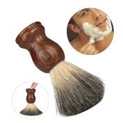 Gotd Pure Badger Hair Shaving Brush Resin Handle Best Shave Barber