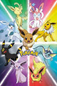 GB eye Pokemon Eevee Evolution, Maxi Poster, Various