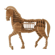 Paper Maker 3-D Puzzles Toy Chinese Zodiac DIY Cardboard Construction Creative Ornaments