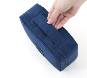 BeeChamp Waterproof Toiletry Bag Cosmetic Makeup Organiser Travel Accessory Pouch
