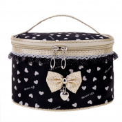 eshion Sweet Lace Bowknot Travel Makeup Storage Beauty Case Cosmetic Bag
