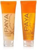 PAYA Organics Luscious Quenching Shampoo & Conditioner lot of 16 (8 of each) 30ml bottles by Paya