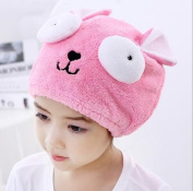PETMALL 1PC Bath Towel Hair Dry Hat Shower Cap Strong Absorbing Drying Lady Bath Caps For Kids OFFICE-826