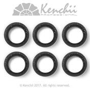 KENCHII KEFIP1 Extra Soft Premium Quality Finger Ring Inserts Black