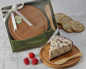 "Artisano Designs ""La Fromagerie"" Cheese Board and Spreader"