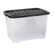 CEP 2002030110 xw203 Crystal Plastic Storage Box 65 L 60 x 39,70 x 37,79 cm