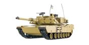 RC Tank M1A2 Abrams 1:16 Heng Long Smoke & Sound + Metal Gears and 2.4GHz