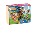 Paw Patrol - 3 Wooden Puzzles - The Pat Patrol