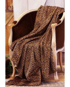 Carstens Leopard Throw Blanket