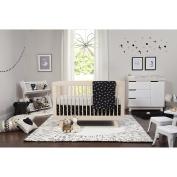 Babyletto Tuxedo 5-Piece Nursery Bedding Set, Black