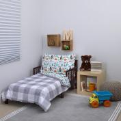 Carter's Woodland Boy 4-Piece Toddler Set, Grey/White/Green/Blue, 130cm x 70cm