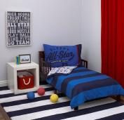 Carter's All Star 4-Piece Toddler Set, Blue/White/Red, 130cm x 70cm