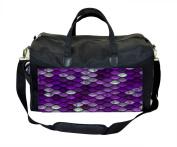 Purple Mermaid Scales Nappy/Baby Bag