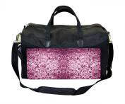 Vintage Pink Damask Nappy/Baby Bag