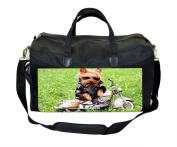 Biker Yorkie Nappy/Baby Bag