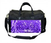 Purple Tiger Nappy/Baby Bag