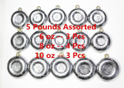 Kathy store INC Disc Fishing Sinkers - assorted weights