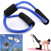 Bazaar Resistance Bands Tube Fitness Muscle Workout Exercise Yoga Tubes