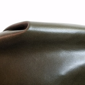 Dark Green Smooth Nappa Soft Monaco Cow 2.0-70ml 20-2sqm Cowhide Side Leather By Nat Leathers Upholstery