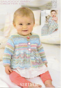Cardigan and Blanket in Sirdar Snuggly Baby Crofter DK (1252) Knitting Pattern