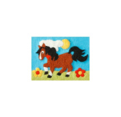 Orcidea ORC.4621   Felt By Numbers Pony Children's Felting Kit   20 x 15cm