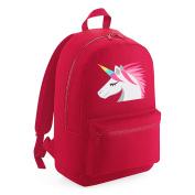 Apparel Printing Emoji Unicorn Face Kids Backpack