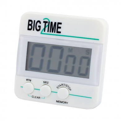 sourcingmap® Digital Kitchen Timer Big Digits Loud Alarm Magnetic Backing and Retractable Stand