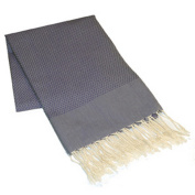 Scents and Feel 100-Percent Cotton Solid Fouta Bath Towel, Navy