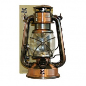 Summit National Trust 15 LED Lantern Antique Copper Finish