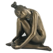 Tranquil, Cold Cast Bronze Statue - Love is Blue Collection
