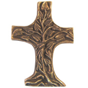 Bronze Cross Tree of Life 11.5 cm * 8 cm