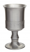 Wentworth Pewter Mediaeval Antique Finish Pewter Goblet
