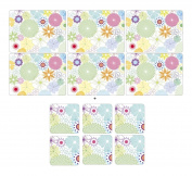 Pimpernel - Crazy Daisy, 6 Placemats + 6 Coasters