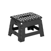 Zeller 99159 Collapsible Stool Plastic 32 x 25 x 22 cm Black