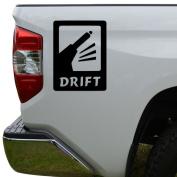 JDM Drift Shift Stick Japanese Die Cut Vinyl Decal Sticker For Car Truck Motorcycle Window Bumper Wall Decor Size- [6 inch/15 cm] Tall Colour- Gloss Black