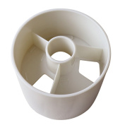 White Plastic 10cm Practise Regulation Golf Green Hole Cup