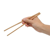BAMBOO CHOPSTICKS - PAIR - ORIENTAL - RICE - KITCHEN - UTENSIL