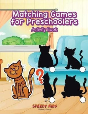 Matching Games for Preschoolers Activity Book