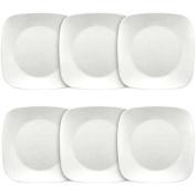 Corelle Corelle Square 20cm - 1.9cm Luncheon Plate, Pure White