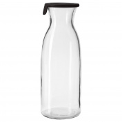 IKEA VARDAGEN - Carafe with lid Clear glass