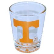 NCAA Tennessee Volunteers Shotglass Bullseye Bottom